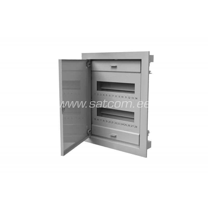 fuse box flush mount metal door 24m satcom fuse box flush mount metal door 24m