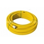 Corrugated, double-walled + connectin piece PipeLife ø50mm 50m r0ll, yellow 450N