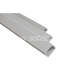 Cable trunking 16 x 16 mm gray 2 m