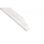Cable trunking 25x16mm white, 2m