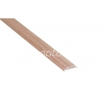 Cable trunking for floor 60 x 15 mm beech wood 2 m