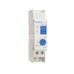 Time delay relay for DIN rail