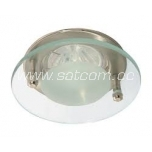 Halogen downlight satin-chrome (DL-6S)