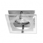 Halogen downlight satin-chrome (DL-20SL)