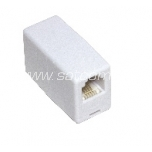 Extesion piece for telephone connection cable RJ11-RJ11 Cat5e packaged