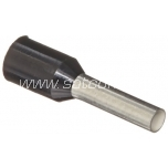 Cable end sleeve 16mm², 12mm, 100pc