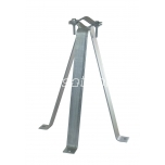 Wall mount 60 cm 3-legged with clamp