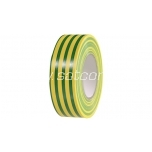 Electrical tape 20m green-yellow