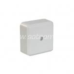 Pindpaigaldatav harukarp IP20 60x60x29 mm valge pakendis