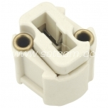 Lamp holder ceramic G9 packaged