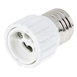 Lamp holder adapter E27-GU10 packaged
