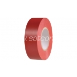 Electrical tape 10m red