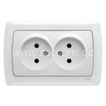 Socket double Carmen