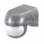 Movement sensor 180º IP44 white