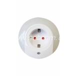 LED nightlight with light sensor for socket