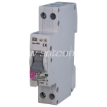 ETI residual current circuit breaker with overcurrent protection 16A B