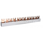 ETI Insulated busbar 1 P, 10mm², 12M, 0,21m