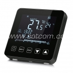 Thermostat Heber HT-125B touch panel 220V black