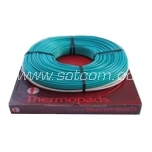 Floor heating cable 15 m, 250 W