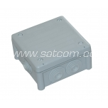 Installation box IP66 102x102x56 mm gray