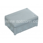 Installation box IP66 166x116x70 mm gray