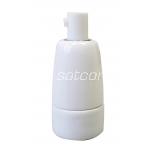 Keraamiline lambipesa E14 valge pakendis