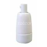 Keraamiline lambipesa E14 valge