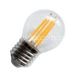 LED filament G45 4W E27 - 420lm