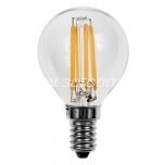 LED filament lamp G45 4W E14 - 420lm