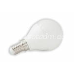 LED lamp G45 PALL 6W, E14 - 490lm