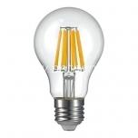 LED filament A60 8W E27 - 1050lm