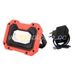 LED flood light with battery 10W