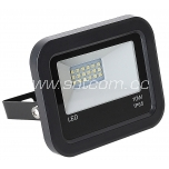 LED flood light black 10W, 4000K