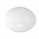 LED plafond 18W, 1.200lm, IP44, warm white 3000K, Ø30x10cm