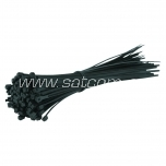 Cable tie 750 x 7,5 mm,black, 100 pc