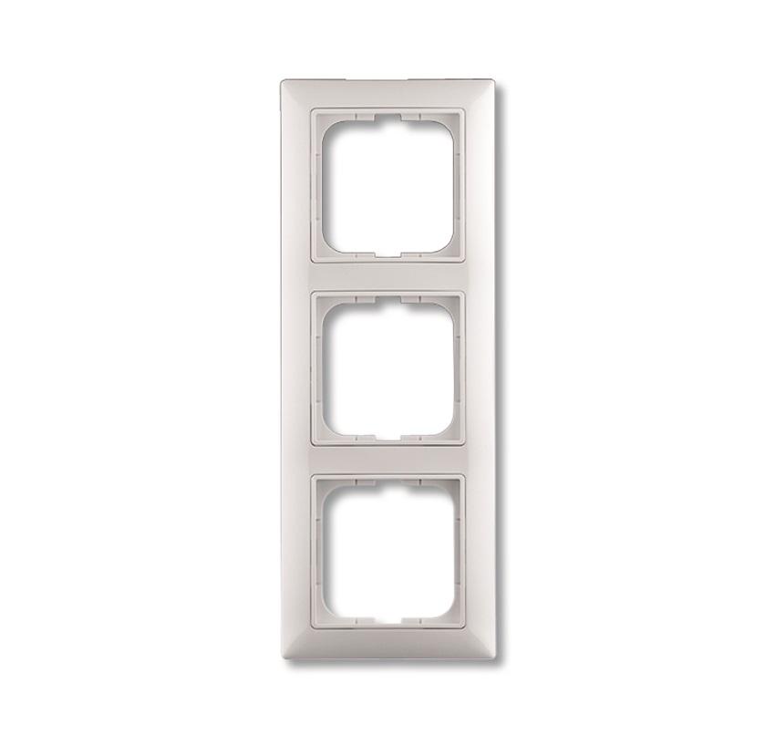 ABB Basic55 valge raam 3-ne pakendis