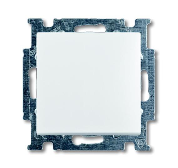 ABB Basic55 valge lüliti 1-ne rist pakendis