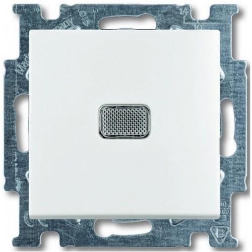 ABB Basic55 valge lüliti 1-ne tulega pakendis