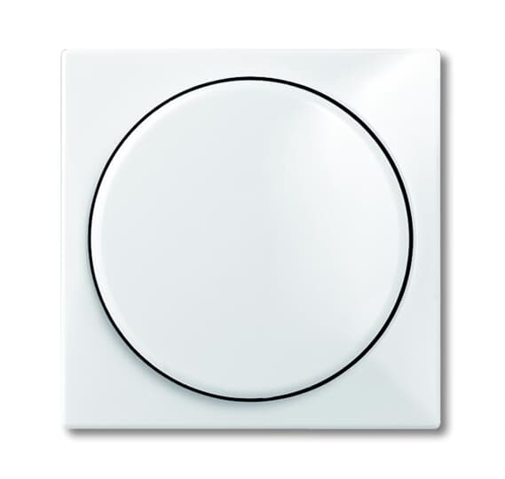 ABB Basic55 valge LED-dimmeri kate huumlambiga pakendis
