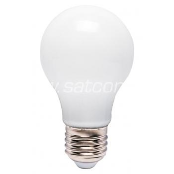 LED lamp A60 klaas 6W, E27, 3000K, 520lm