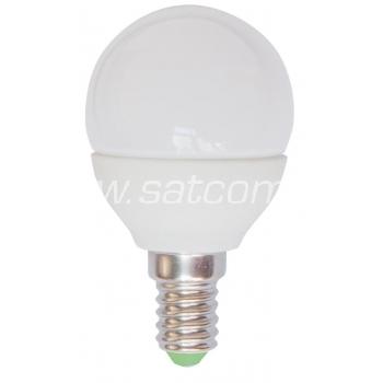 LED lamp G45 PALL 4W, E14 - 360lm