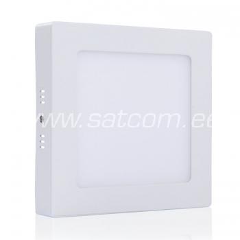 LED allvalgusti 12W, 3000K, 900lm, kandiline, pindpaigaldatav