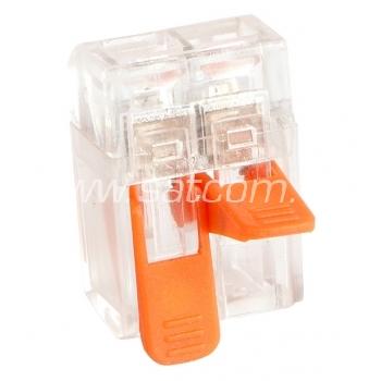 Kiirklemm MINI avatav, kiudkaablile 2x0,2-4mm², 100tk