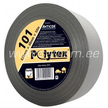Polytex teip 25m, hõbedane