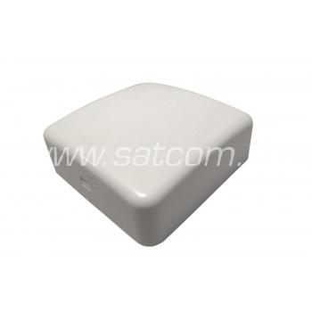 Pindpaigaldatav harukarp IP20 80x80x29 mm valge pakendis