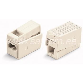 Valgusti juhtme ühendus 2-ne 2,5 mm² 25 tk pakendis