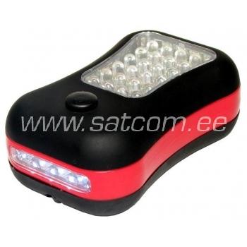 Töölamp väike 24 LED- patareideta