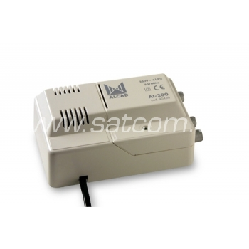 Liinivõimendi VHF/UHF 14/24 dB, 2 väljundit