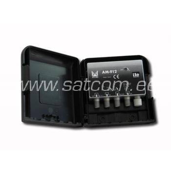 Mastivõimendi UHF/DAB/FM 32dB 12V LTE free