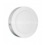 LED downlight 12W, 3000K, 900lm, surface mount